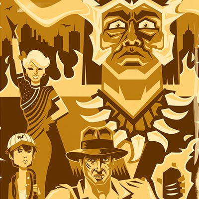 The Adventure Continues With... by Eric Tan | Indiana Jones