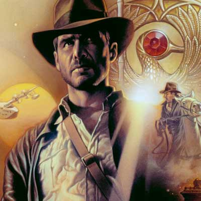 Indiana Jones: Raiders of the Lost Ark by Tsuneo Sanda