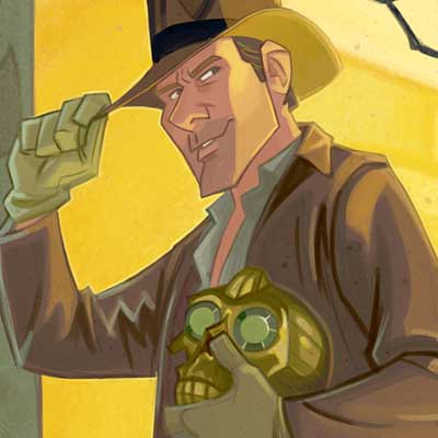 The Man in the Hat by Patrick Schoenmaker | Indiana Jones