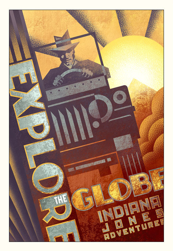 Explore the Globe by Mike Kungl | Indiana Jones