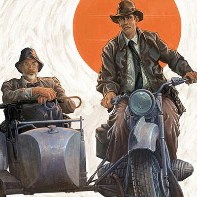 The Last Crusade by Mark Dos Santos | Indiana Jones