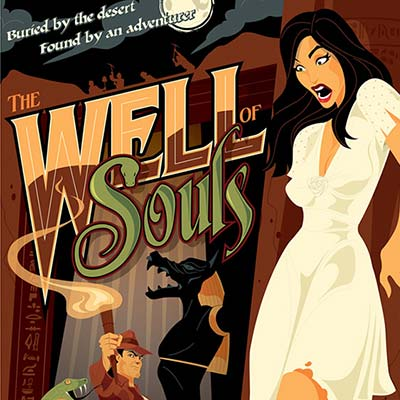 Well of Souls by Mike Mahle | Indiana Jones