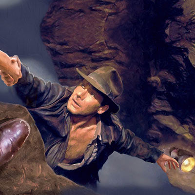 Hand From Above by Masey | Indiana Jones