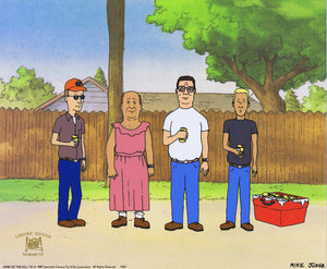 Friends & Neighbors by Wes Archer | King of the Hill