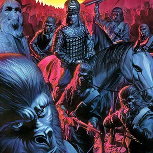 Cataclysm Issue #1 by Alex Ross | Planet of the Apes