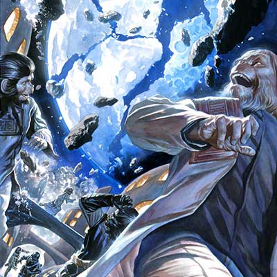Cataclysm Issue #2 by Alex Ross | Planet of the Apes