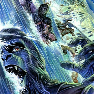 Cataclysm Issue #3 by Alex Ross | Planet of the Apes