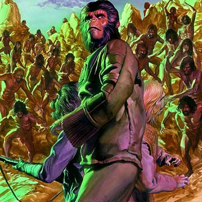 Cataclysm Issue #4 by Alex Ross | Planet of the Apes