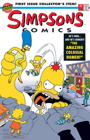Simpsons Comics #1 | The Simpsons canvas
