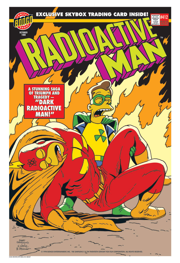 Radioactive Man Issue #412 | The Simpsons paper