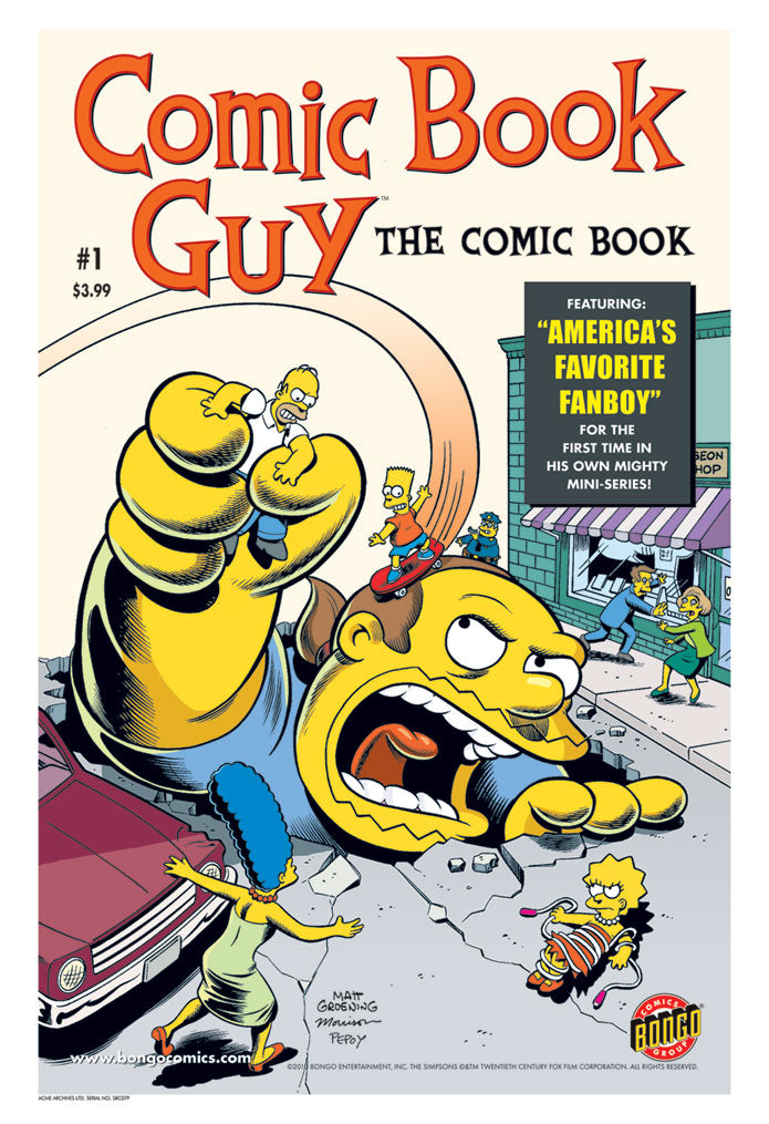 Comic Book Guy #1 | The Simpsons