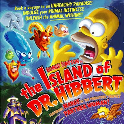 Island of Dr. Hibbert by Bill Morrison | The Simpsons thumb