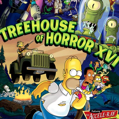 Treehouse of Horror XVI by Julius Preite | The Simpsons thumb