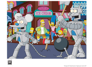 Itchy & Scratchy Land: Parade | The Simpsons