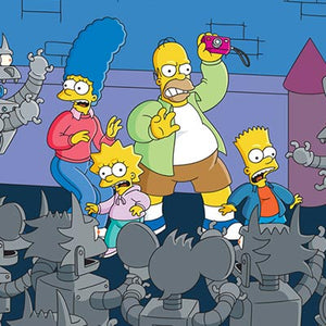 Itchy & Scratchy Land: Trapped | The Simpsons first