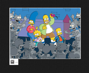 Itchy & Scratchy Land: Trapped | The Simpsons