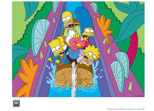 Itchy & Scratchy Land: Logride | The Simpsons