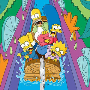 Itchy & Scratchy Land: Logride | The Simpsons first