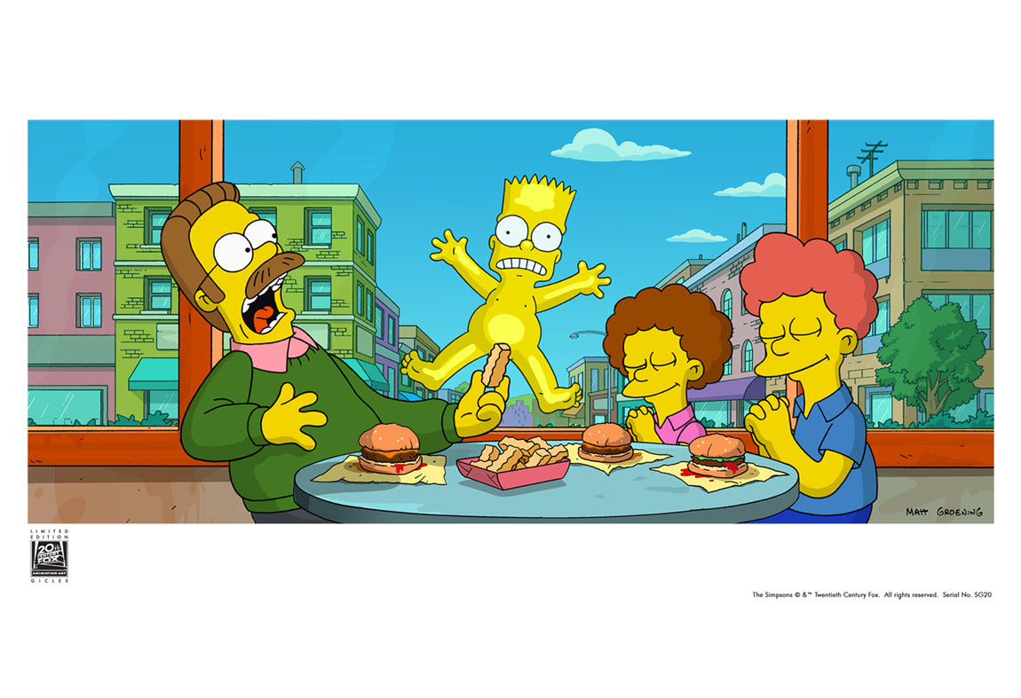 Bart On Glass The Simpsons Movie Acme Archives Direct