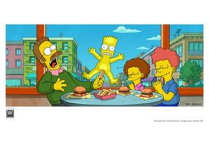 Bart on Glass | The Simpsons Movie