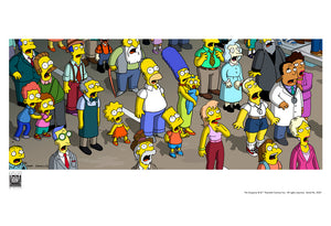 Crowd Aghast | The Simpsons Movie