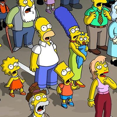 Crowd Aghast | The Simpsons Movie thumb