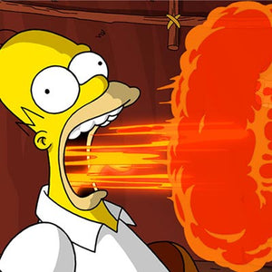 Flaming Homer | The Simpsons Movie thumb