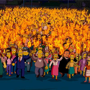 Mob with Torches | The Simpsons Movie thumb