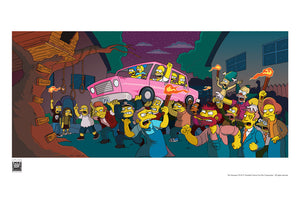 Angry Mob | The Simpsons Movie