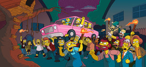 Angry Mob | The Simpsons Movie close up