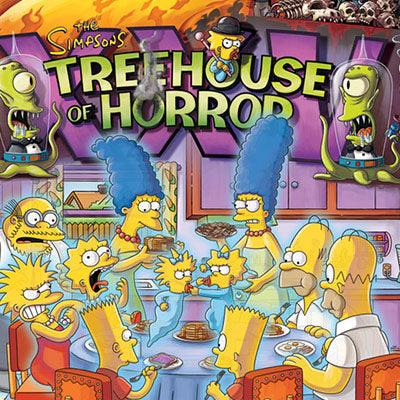 Treehouse Of Horror Xxv The Simpsons Acme Archives Direct