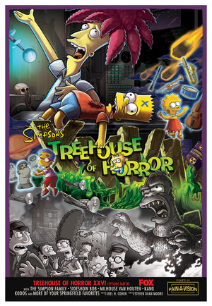 Treehouse of Horror XXVI | The Simpsons