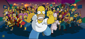 Run Homer Run | The Simpsons Movie