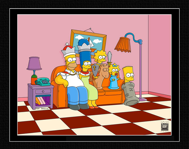 Couch Gag: Chess | The Simpsons thumb