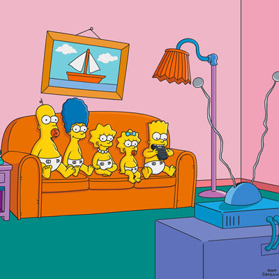 Couch Gag: Babies | The Simpsons thumb