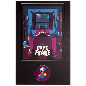 Cape Fear Set collectible pin Krusty | The Simpsons