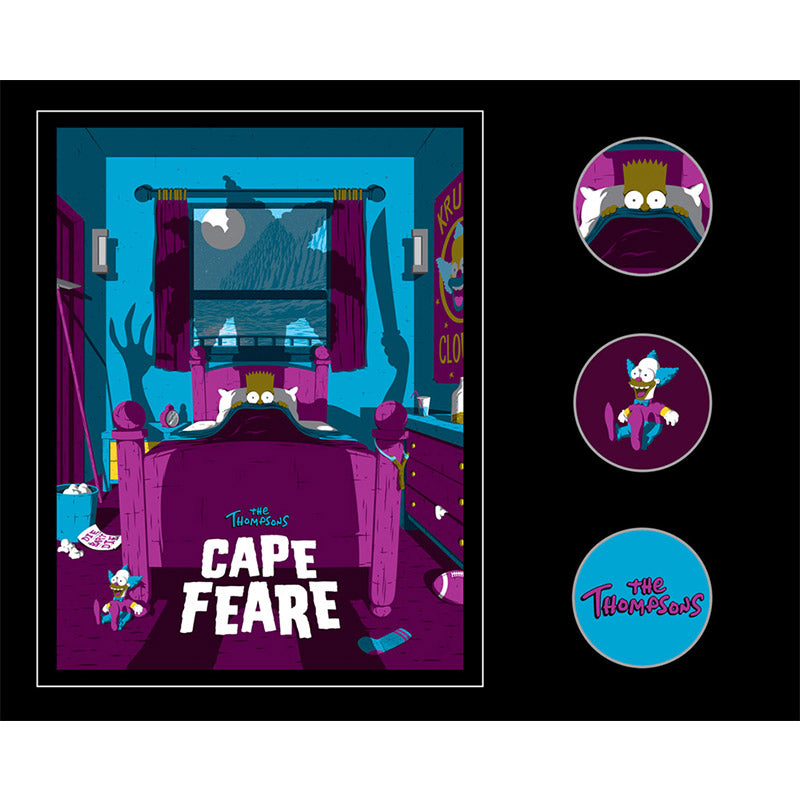 Cape Fear Set collectible pins | The Simpsons