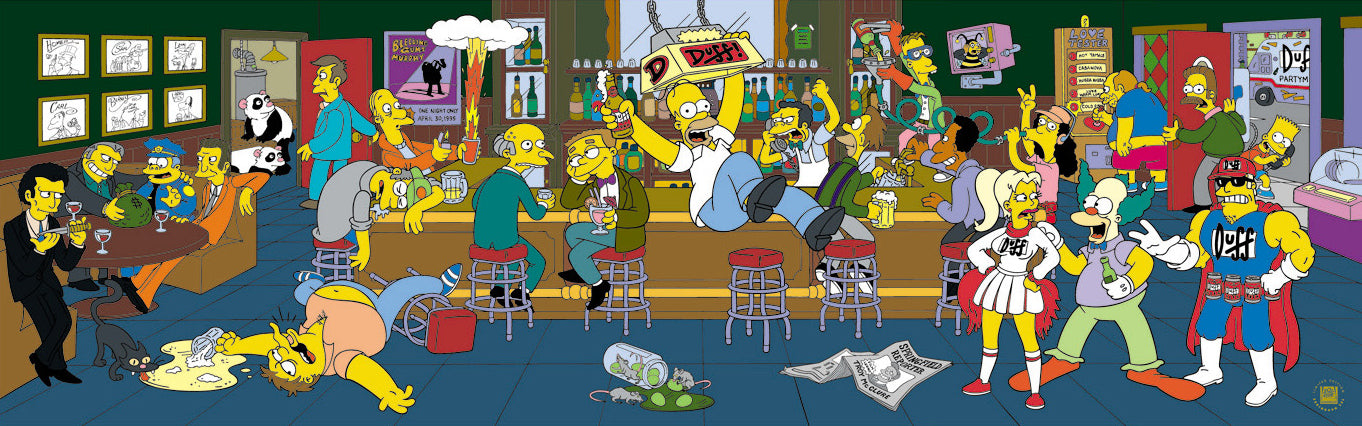 Happy Hour The Simpsons Acme Archives Direct