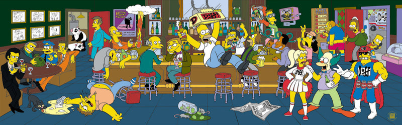 Happy Hour | The Simpsons
