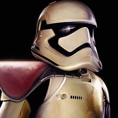 First Order Trooper by Brian Rood | Star Wars