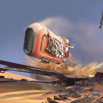Speeder Whip by Stephan Martiniere | Star Wars