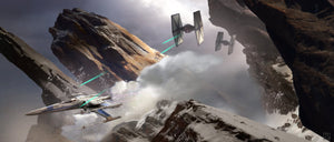 Evasive Action by Stephan Martiniere | Star Wars