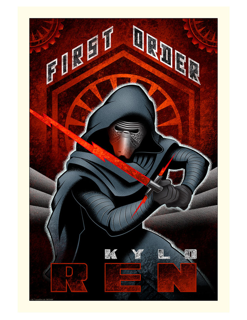First Order Ren by Mike Kungl | Star Wars
