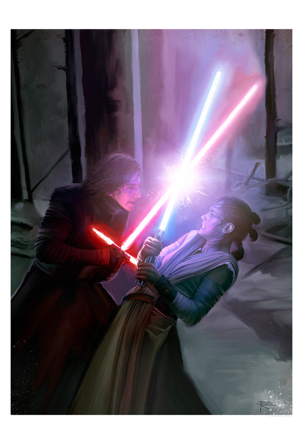Where There is Darkness, There is Light by Brian Rood | Star Wars
