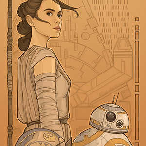 Beyond Jakku by Karen Hallion | Star Wars