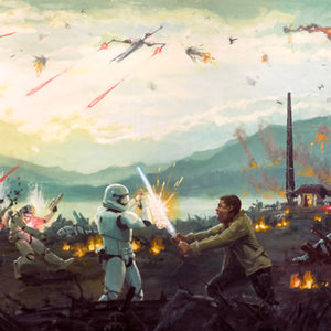 Attack on Takodana by Christopher Clark | Star Wars