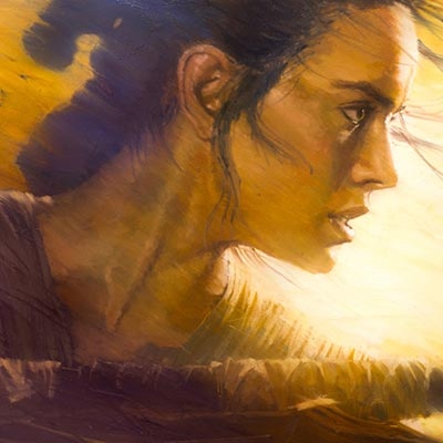 Rey by Christopher Clark | Star Wars