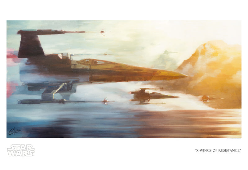 X-Wings of Resistance by Christopher Clark | Star Wars