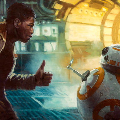 Thumbs Up by Christopher Clark | Star Wars