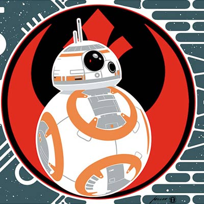 BB-8 and BB-9E by Brian Miller | Star Wars thumb